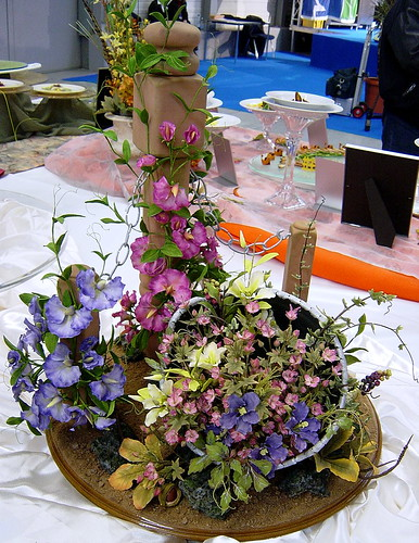 Culinary Competition - Chocolate Centerpiece