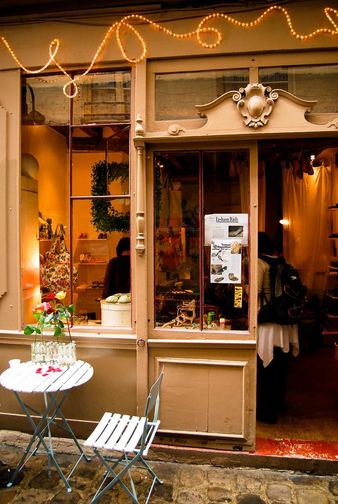Boutique, passage Molière