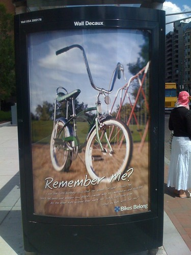 Remember Me Bicycle Ad
