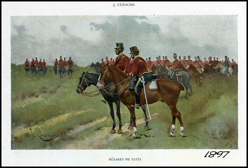 Húsares de Pavía. 1897