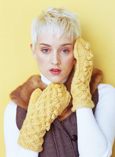 Vogue Knitting fall 08 mittens