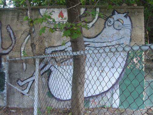 Graffiti Wall Near Bronson