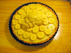 Banana Cream Pie in Progress