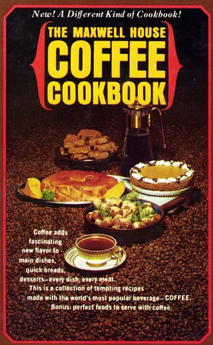 Maxwell House cookbook cover 1965