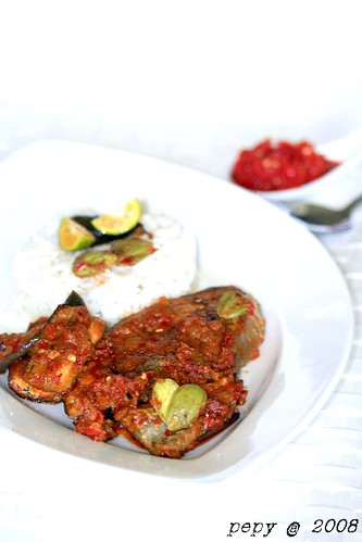 King Mackerel, Eggplant and Petai Balado_ver