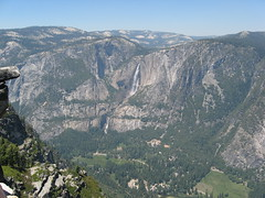 On top of the Glacier Point, Yosemite Valley Photo