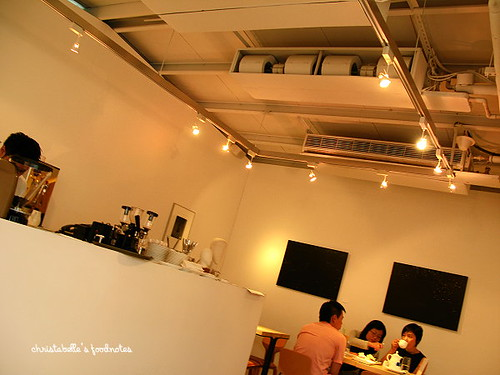 Loft Cafe 店內