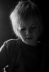 Viking boy (LuzKreativa) Tags: boy bw cute blond nordic backlit viking controluce vichingo biondo nordico islandic ragazzino softdof