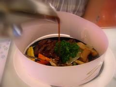 厚切牛排海鮮串燒