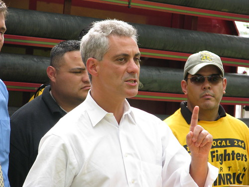 Rahm Emanuel in New Mexico