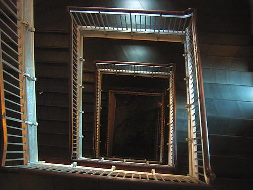 Ellis Island stairwell