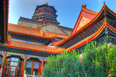 Summer palace, Beijing (Thomas Reichart ) Tags: pictures china holiday tile asia asien photos famous beijing july unesco presentation greatwall yiheyuan summerpalace traveling 2008 peking sites reise worldheritagelist sommerpalast greatpalace gardenofnurturedharmony