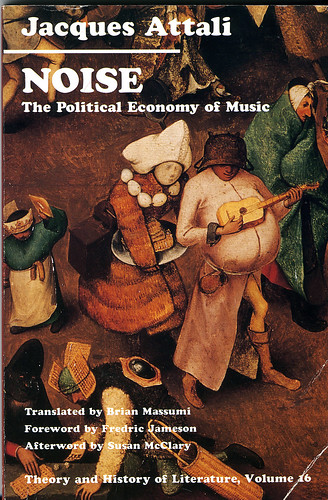 The cover of Jacques Attali's book Noise