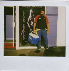 Fetishism (sengsta) Tags: fetish stripclub polaroid bruce flippers wetsuit xrated adultstore polaroidspectraonyx dodgey instandfilm