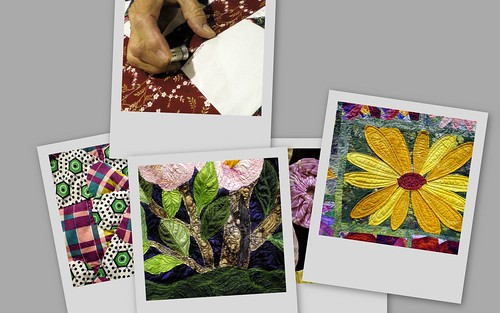 Collage of San Diego Quilt Show Favorites