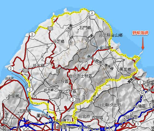 北海一周路程圖