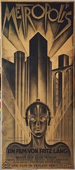 Metropolis Movie Poster (kristi_kaotic) Tags: urban architecture buildings movie poster shadows drawing structure line proportion verticality cityarchive