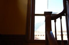 (nimariel) Tags: window vermont stairwell railing bannister montpelier kellogghubbardlibrary est1894