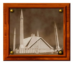 "FAISAL MASJID ""PAKISTAN"" (TARIQ HAMEED SULEMANI) Tags: pakistan tariq mosques islamabad framedpictures faisalmasjid faisalmosque framedphotos masjids sulemani"