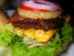 夏威夷起司漢堡