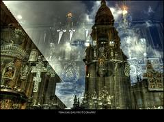 Santiago De Compostela (lighttripper) Tags: santiago reflection de religious spain europe christian compostela spirituality compostella