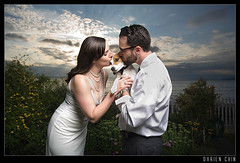 The Best Man (Darien Chin) Tags: wedding sky dog love clouds canon advertising photography kiss nw photographer marriage commercial editorial wa 5d darien bestman chin 1740mm hitech edmonds vagabond whitelightning gnd pocketwizards x1600 darienchin wwwdarienchincom