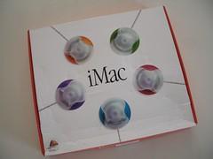 iMac G3/266Mhz keyboard/mouse box (A.Kaidanovskij) Tags: apple macintosh imac