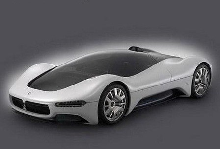 Eleventh futuristic car photo