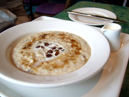 Cafe Paradiso porridge