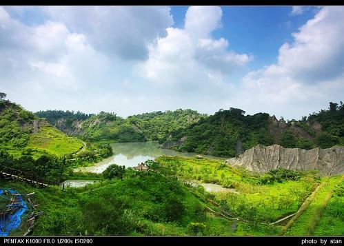 Neopu Mudstone Area ,Taiwan 牛埔泥岩水土保持教學園區