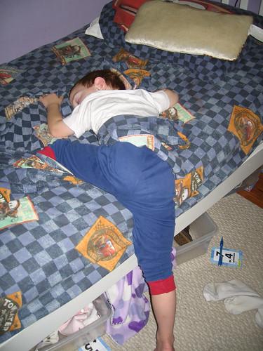 Kade Sleeping