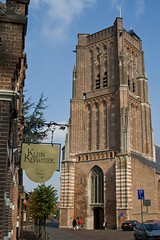 Martinuskerk-6207 (Arie van Tilborg) Tags: maas brabant molen vestingstad jacobavanbeieren martinuskerk woudrichem nooitgedagt arievantilborg tlbdemonnl avantilborg