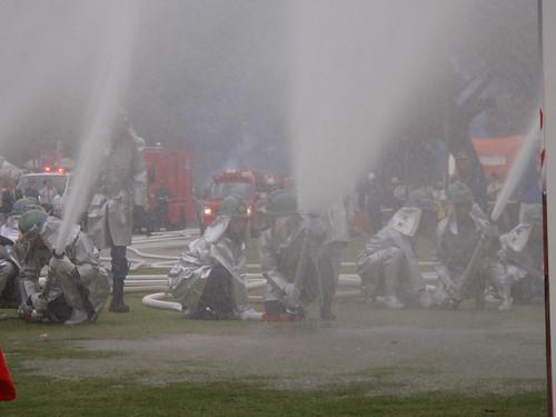 Exhibición bomberos
