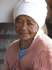 Beauty in the Eye of the Beholder (biancapreusker) Tags: old portrait woman beauty southafrica thoughtful cape humble bigmomma canonpowershots2 pfogold thechallengefactory