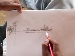 Sudhi sketching 2