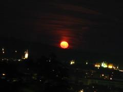 2007 07 01 - 0573 - Graz - View from Schlossberg (thisisbossi) Tags: moon night austria österreich graz moonillusion