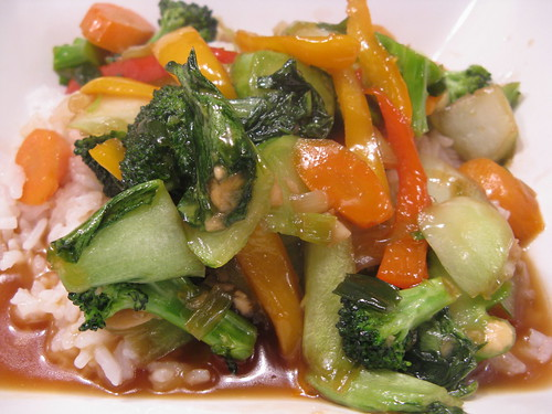 Honey Soy Stir-Fry