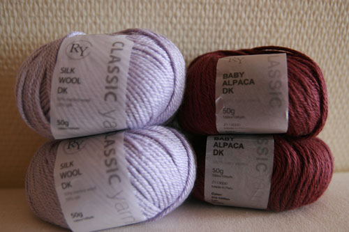 Wool Silk and Alpaca