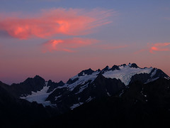 Mt. Olympus sunset (Mike Dole) Tags: washington olympics olympicnationalpark mtolympus