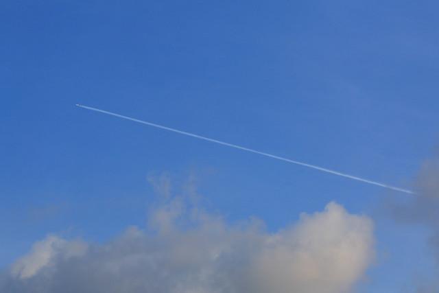 南国ヒコーキ雲