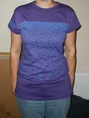 shirt after refashioning