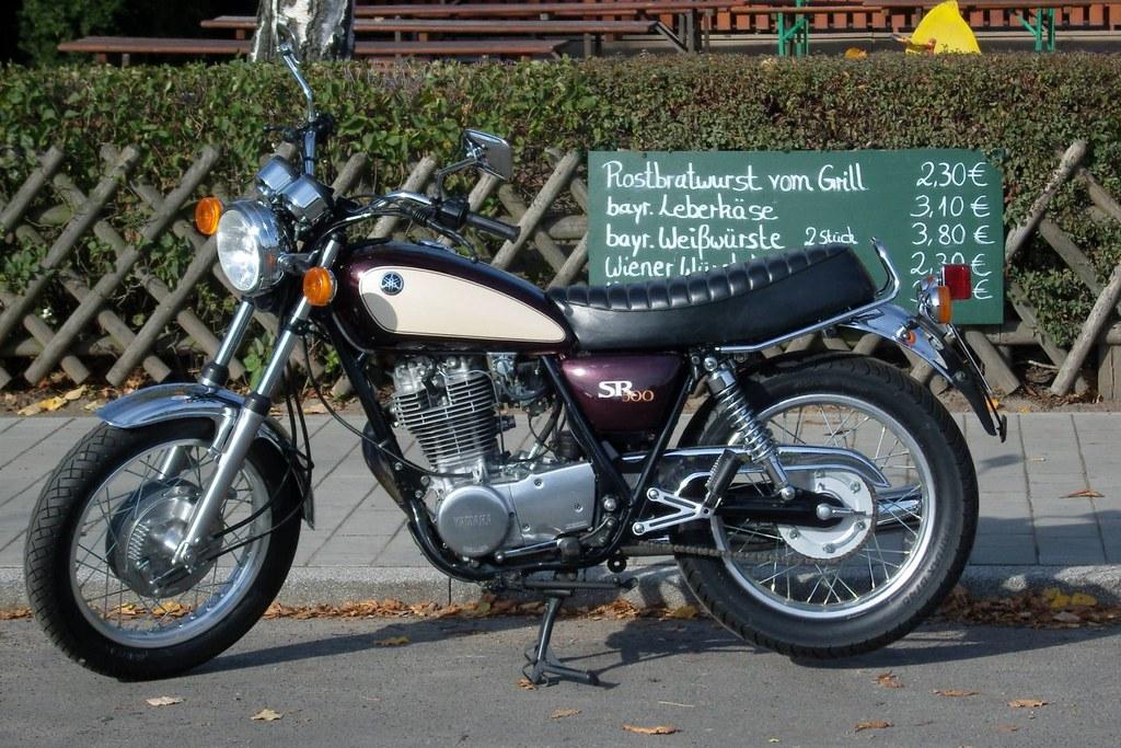 Yamaha SR500 ...