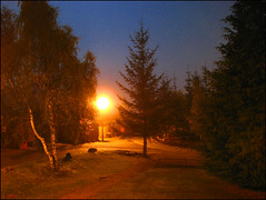 Wintery night (GrazerX) Tags: uk holiday canon scotland highlands powershot aviemore s3is graemesimpson octoberweek