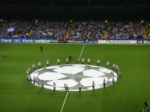 Previo al Himno de la UEFA Champions League