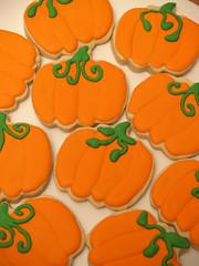Pumpkin Cookies (nikkicookiebaker) Tags: cookies