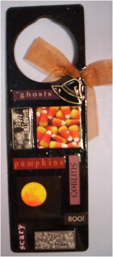 halloween door hanger B
