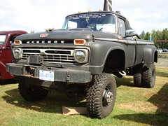 1965 Mercury 4X4 Custom Pickup Truck (Custom_Cab) Tags: canada ford monster truck 4x4 mercury pickup canadian custom 1965 f350 dually m350 duallie dualy