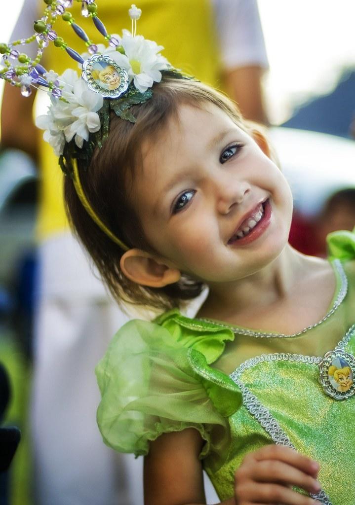 Isabella the Princess on Halloween