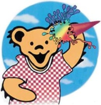 Grateful Dead ice cream dancing bear