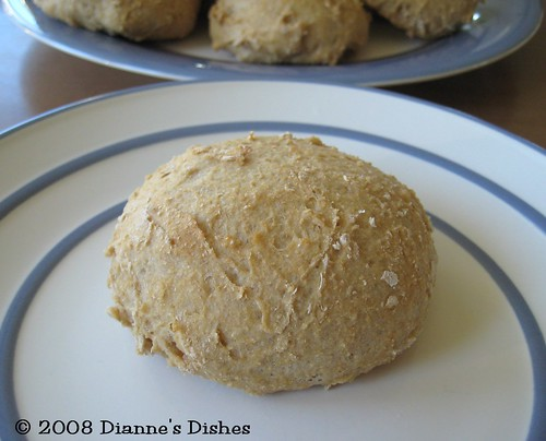 White Whole Wheat Yeast Rolls